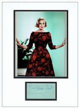 Eva Marie Saint Autograph Signed Display - North By Northwest